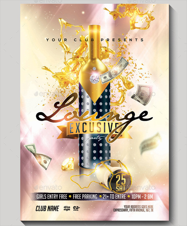 Exclusive Party Flyer Templates