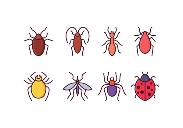 Free Insect Icons Set