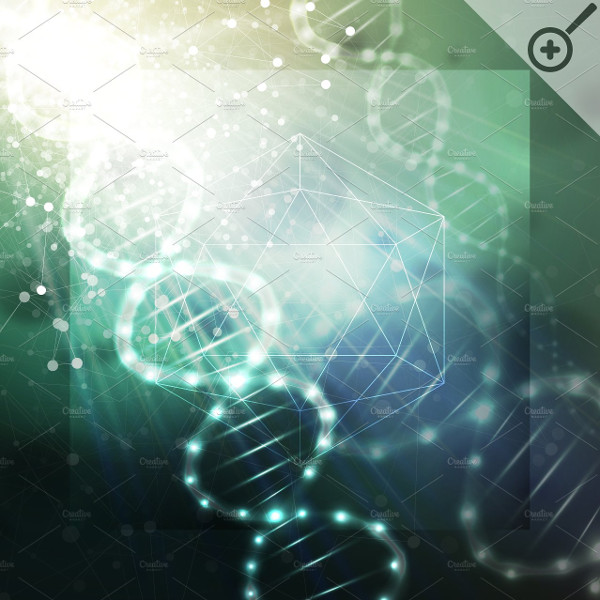 Modern Science Vector Background