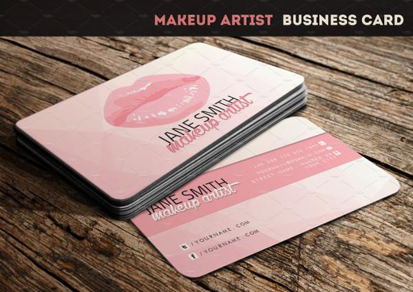 Creative Makeup Artists Business Card