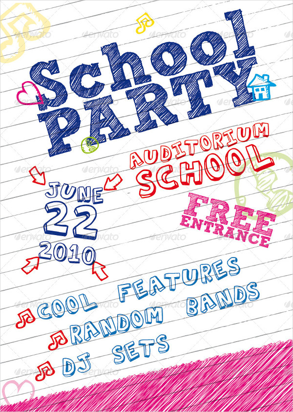 School Party Poster