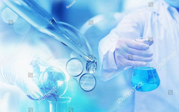 Science Lab Blur Background