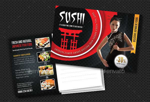 Perfect for any Sushi Bar and Fish Restaurants