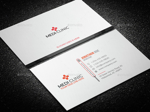 Thermal Business Card Design