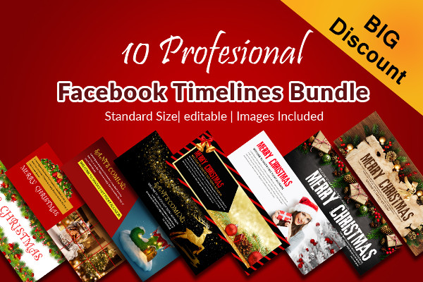 Christmas Facebook Timeline Cover Templates