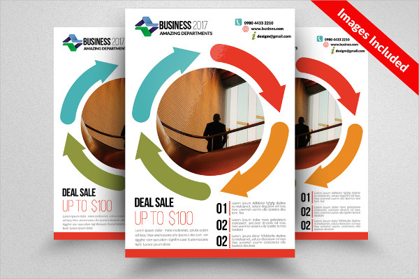 Clean Contractor Flyer Templates