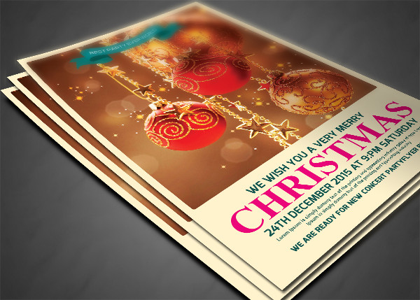 Cool Christmas Party PSD