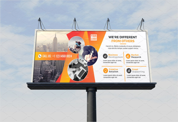 Elegant Corporate Billboard Template