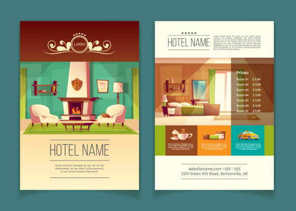 Free Furniture Advertising Brochure Design