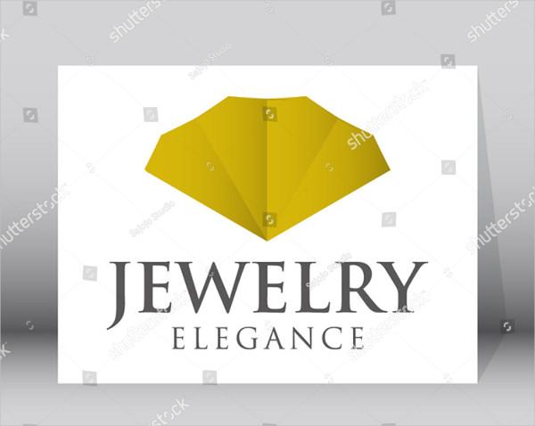Luxury Jewelry Logo Template
