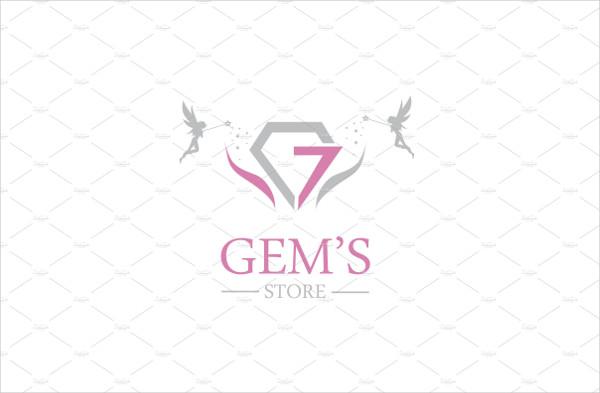 Professional Gems Store Logo