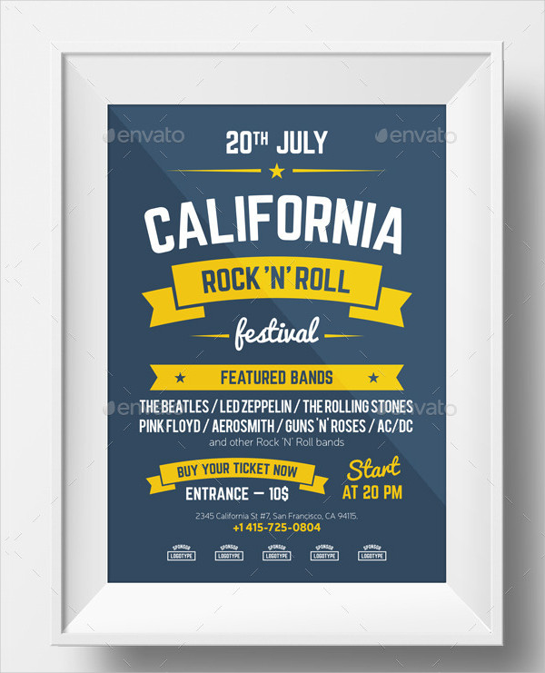Multipurpose Poster Design for Invitations