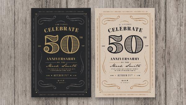 Vintage Invitations Design