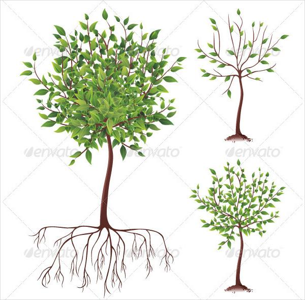 Fully Editable Tree Icons