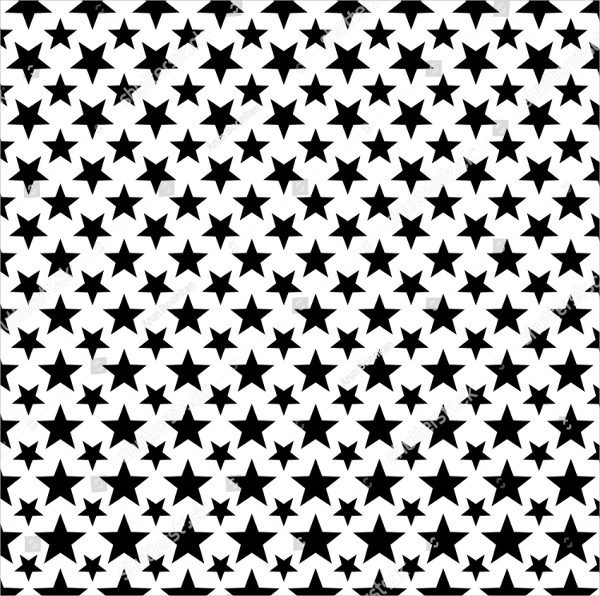Pattern with Stars