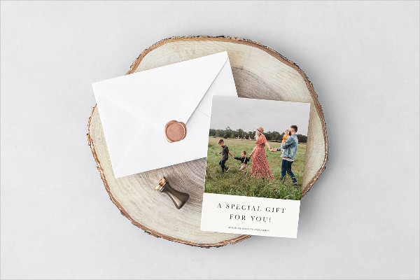 Best Photo Gift Certificate Template Set