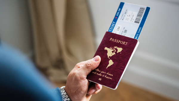 Passport Mockup