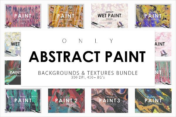 Popular Paint Backgrounds Bundle