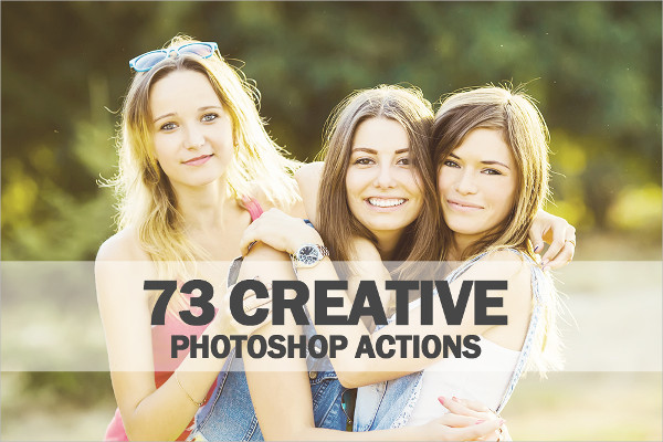 73 Best Photoshop Actions Collection