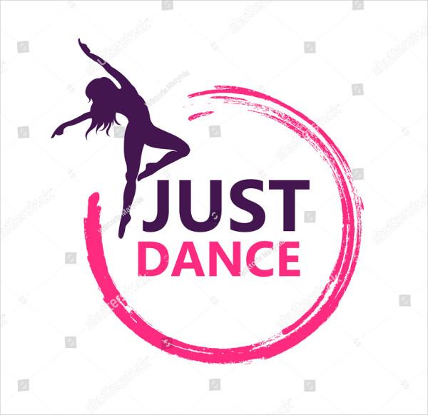 Dance Logo Vector Design
