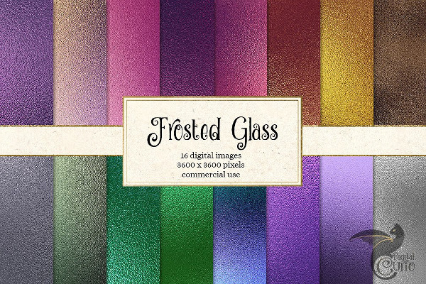 Frosted Glass Texture Pack