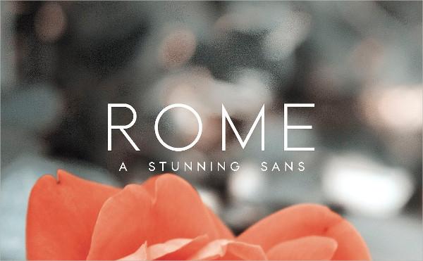 Stunning Sans Serif Fonts