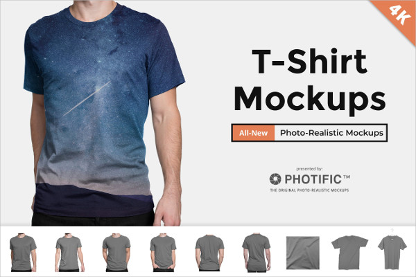 T-Shirt Apparel Mockups