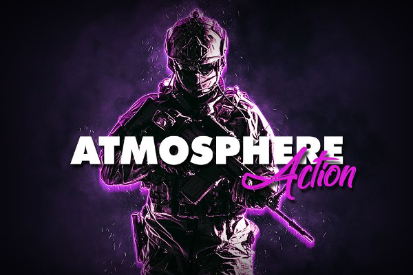 Atmosphere Photoshop Action