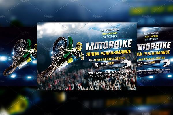 Motorbike Show Flyer Design