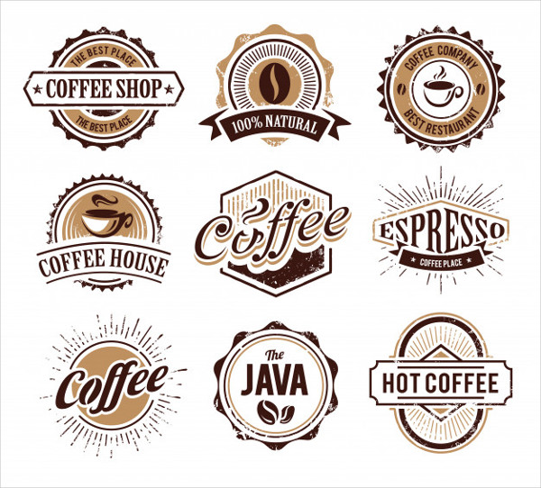 Coffee Logos Collection Free Download