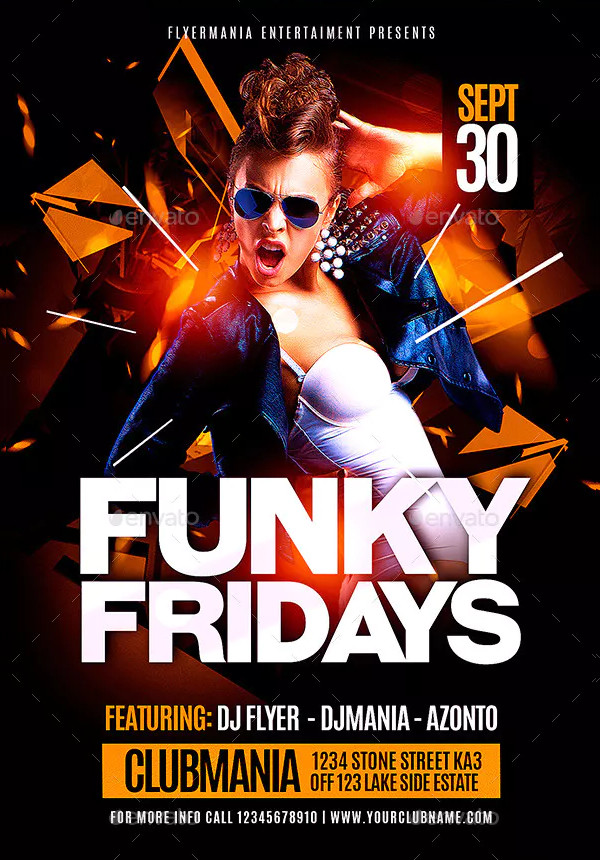 Funky Event Flyer Template