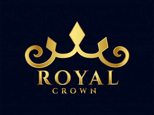 Royal Crown Logo Design Free Download