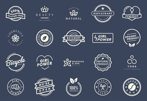 Collection of Logo and Badge Vectors Free Download