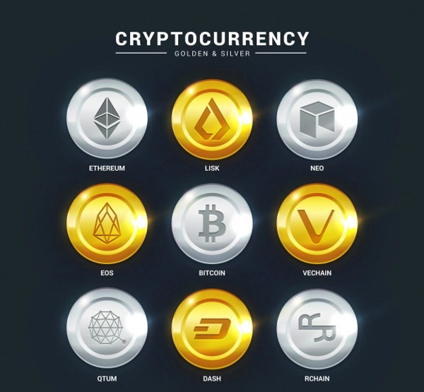 Collection of Cryptocurrency Coins Free