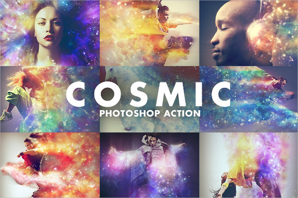 Cosmic PS Action