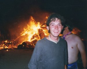 Richard Brook at Burning Man Festival 1996