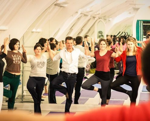 Corporate Yoga & Workplace Wellness London