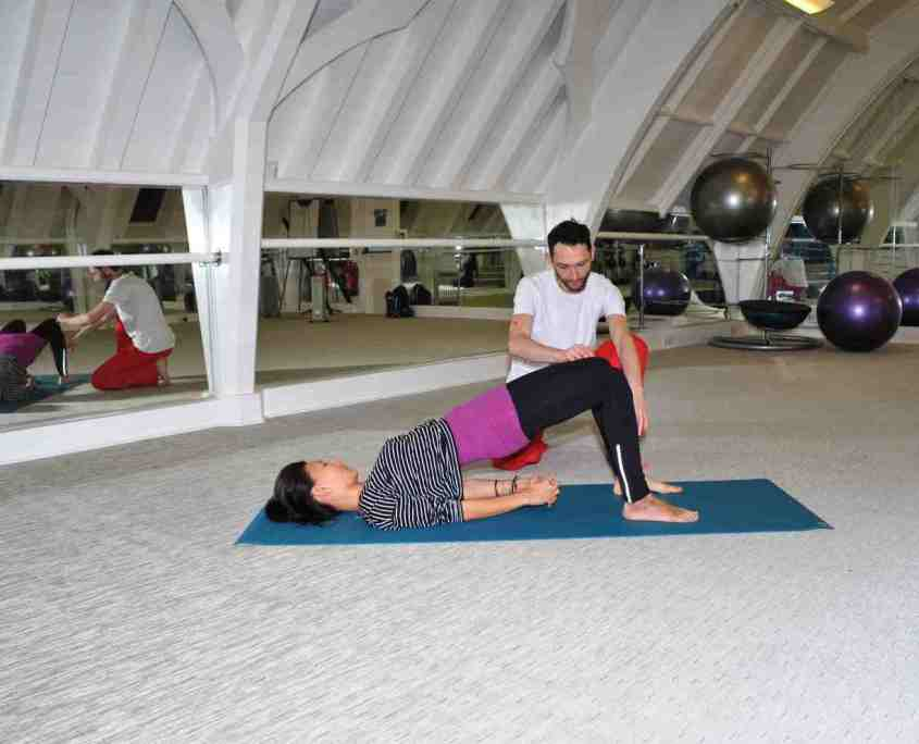 Richard Brook yoga one-on-one session, private yoga classes London