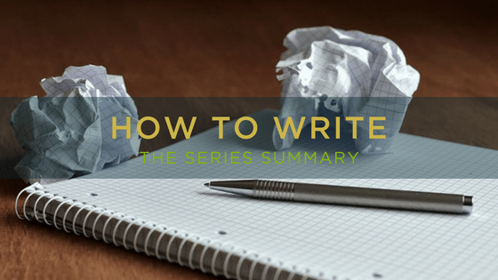 How to Write - the summary