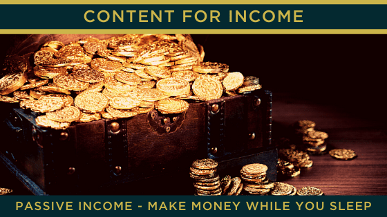 Passive Income – make money while you sleep