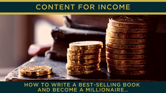 How to write a best-selling book and become a millionaire…
