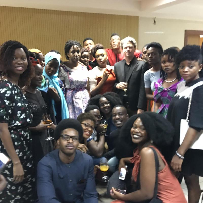 Participants Of The Purple Hibiscus Creative Writing Workshop 2018