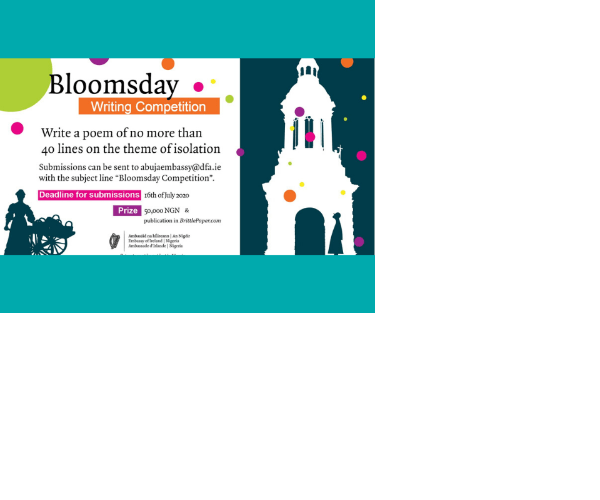 Bloomsday Poetry Writing Competition 2020