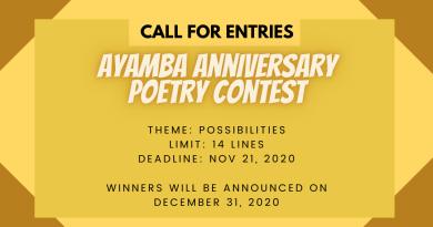 Ayamba Poetry Contest