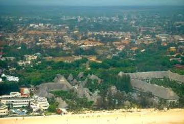 Where is Malindi Town located
