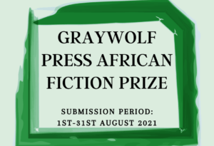 Graywolf press african fiction prize