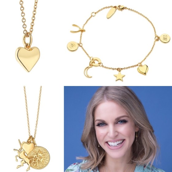 a photo of Amy Huberman Jewellery by Newbridge Silverware