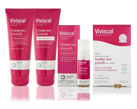a photo of viviscal haircare