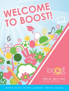 2019 BOOST Conference program book cover