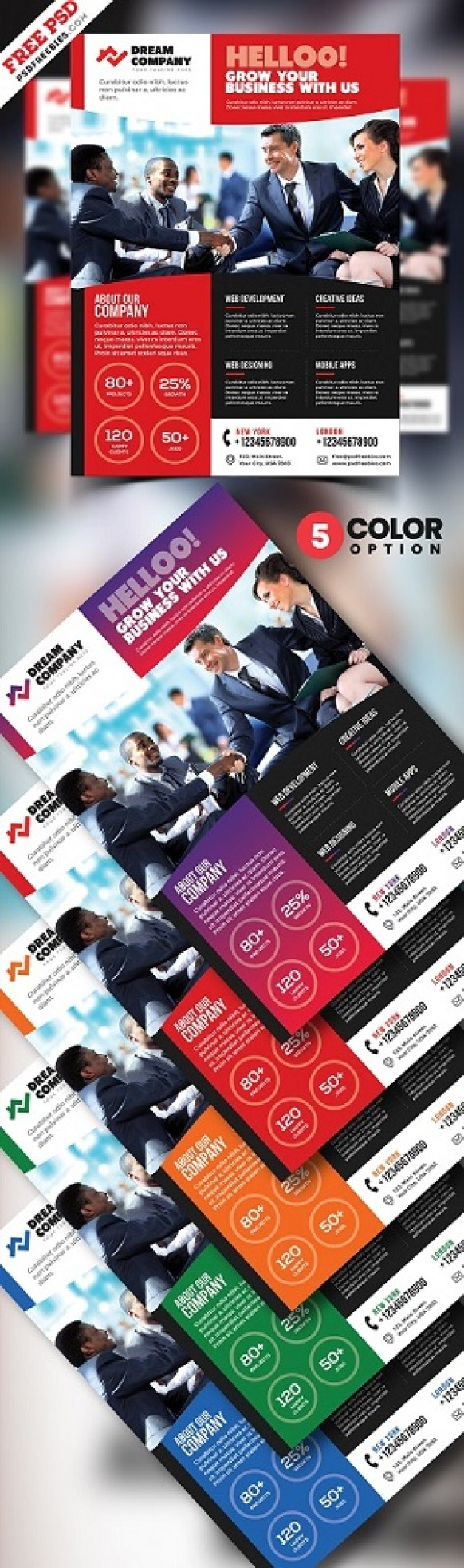 Promotional Flyer Templates Free PSD